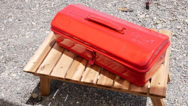 トラスコ山型工具箱 Y-350-R