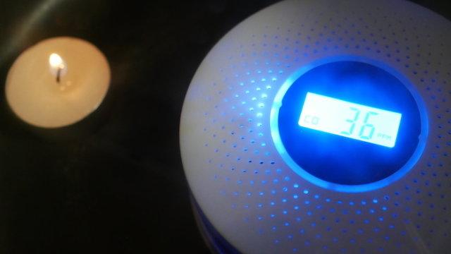 ハンショウ 一酸化炭素警報機